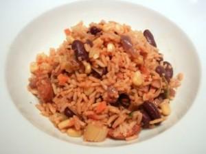 rijst met bonen afvallen