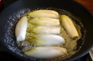 Witlof in boter met suiker