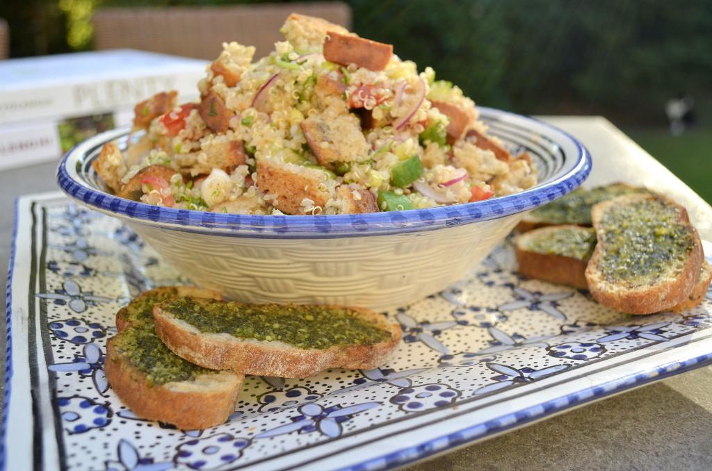 Quinoa broodsalade