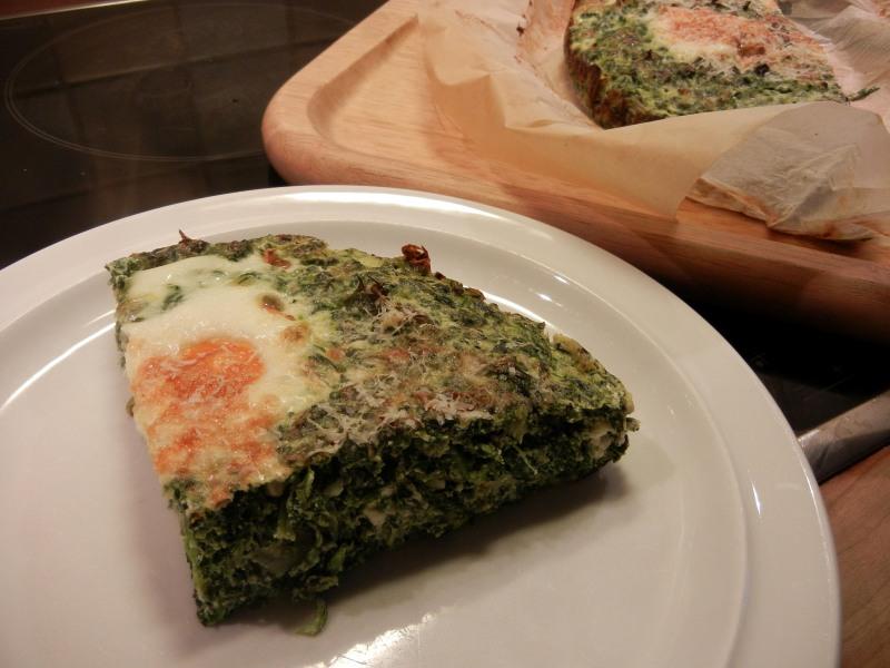 stuk spinazietaart